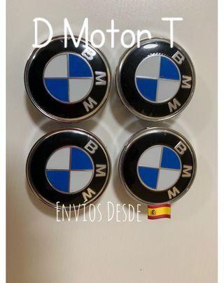 Set 4 Tapabujes 60mm BMW