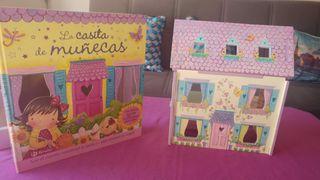La casita de muñeca cuento y construcción.