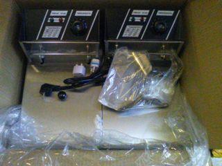 freidora industrial doble 6+6 litros NUEVAS