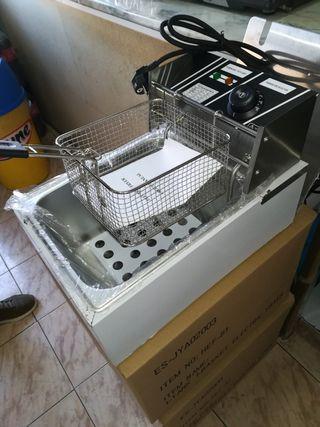 freidora ideal bar pequeño NUEVA industrial