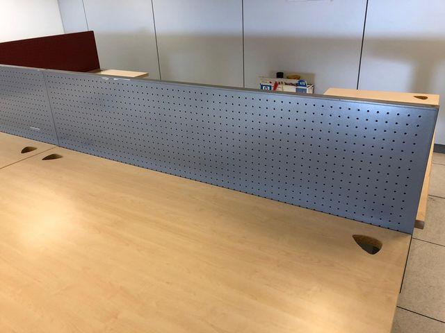 Mampara separador para mesa de oficina de segunda mano por 30 € en ...