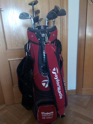 Bolsa de Golf Taylor Made con juego completo palos