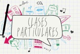 Clases particulares primaria/ESO