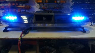 puente de luces emergencias