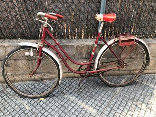 Bicicleta freno varilla antigua