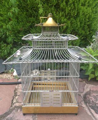 Jaula de aluminio pagoda perfecto estado