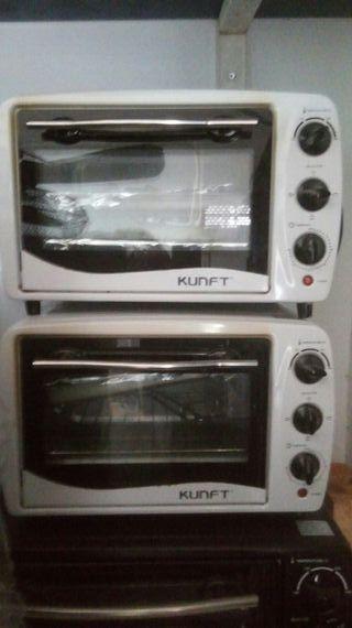 Pequeños hornos electricos