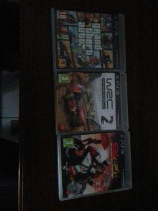 lots de 3 jeux ps3
