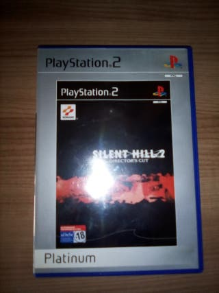 Juego ps2 silent hill director's cut