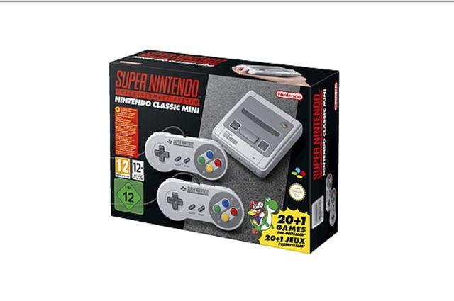 Nintendo Classic Mini (with 20+1 Games)