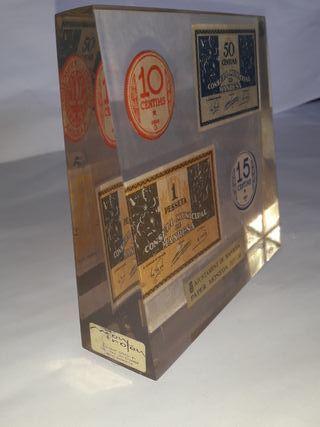Monedas/ billetes de papel Manresa 1937-38