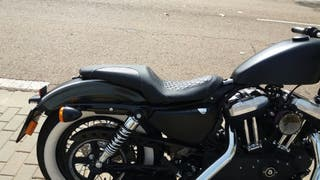 asiento doble sportster