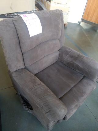 Sofa eléctrico marrón