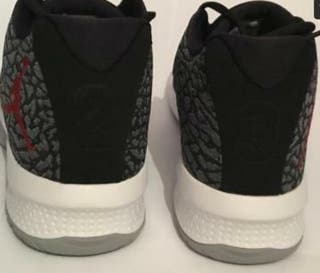 Nike Jordan B.Fly Trainers - Wolf Grey-Black - Per