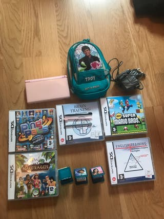 Pack Nintendo Ds lite rosa
