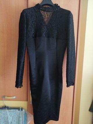 vestido de mantilla
