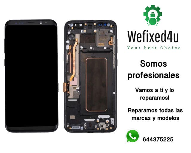 Samsung s8 Pantalla con Marco Original