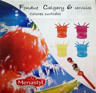 Fondue Menastyl 6 servicios