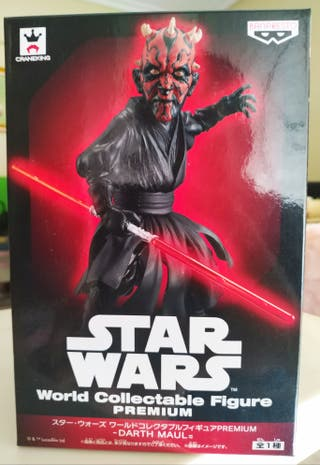 Figura Darth Maul WCF Premium Star wars
