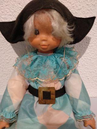 Muñeco de Famosa ARLEQUIN Años 80
