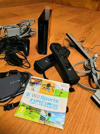 Consola wii + juegos