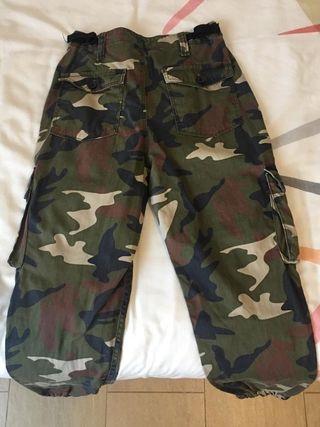 Pantalón militar/camuflaje para mujer