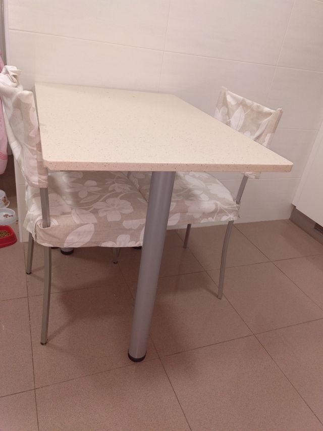Mesa de cocina de silestone de segunda mano por 30 € en L\'Hospitalet ...