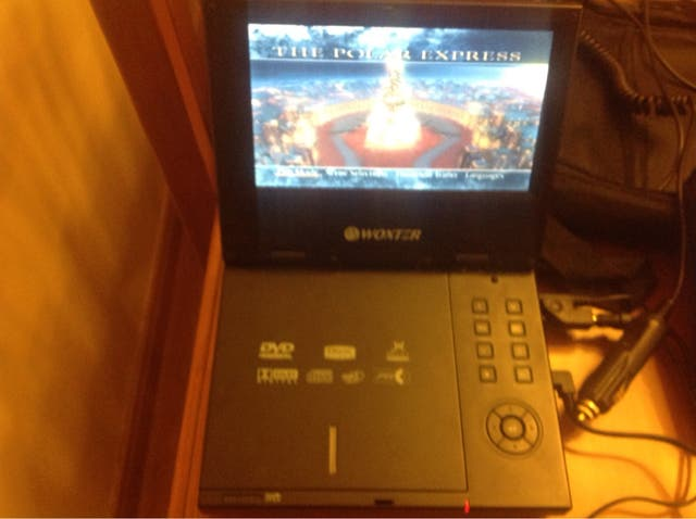DVD portátil coche