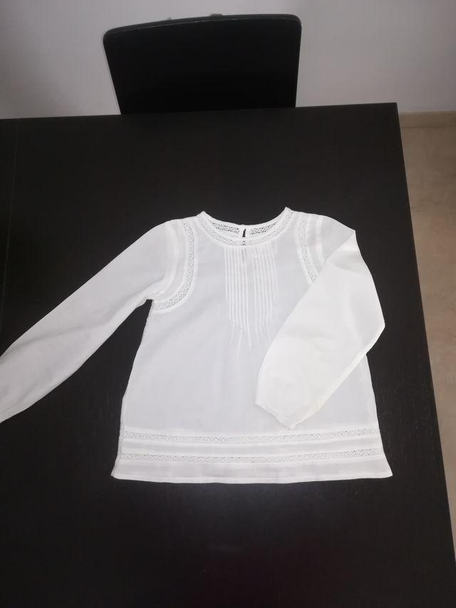 blusa + falda de niña Mayoral