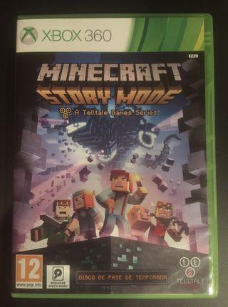 "Juego de Xbox 360 ""Minecraft Story Mode"""