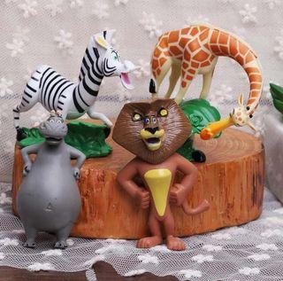 Lote Figuras Madagascar Nuevas