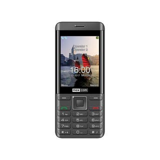Maxcom mm236 negro plata móvil dual sim 2g senior