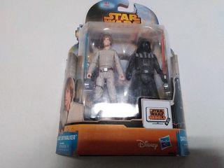 STAR WARS Luke Skywalker & Darth Vader