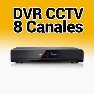 CCTV Grabador DVR 8 Canales AHR008 Camaras cable A