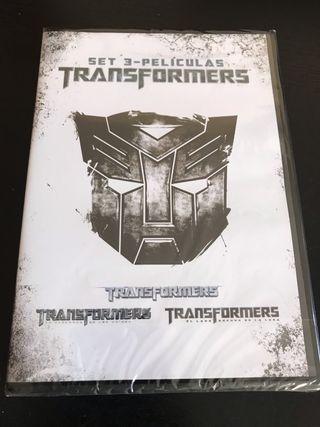 Transformers. Set de 3 películas.
