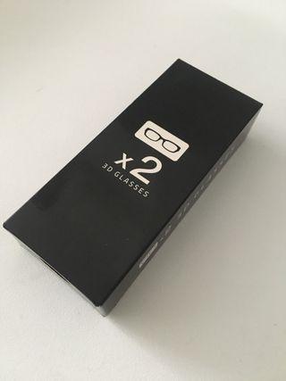 Samsung Gafas 3D (2 unidades)
