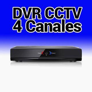 CCTV Grabador DVR 4 Canales AHR004 Camaras cable A