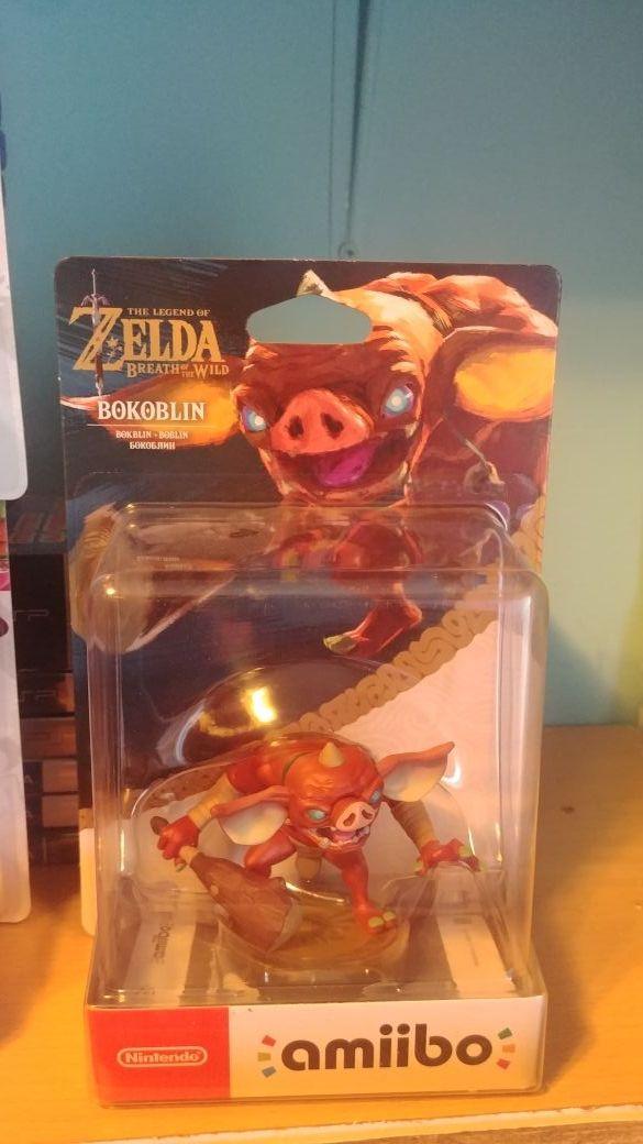 Amiibo Bokoblin Zelda BOTW