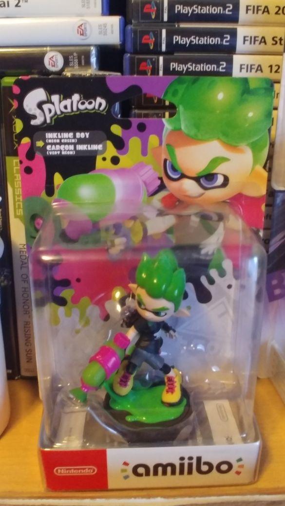 amiibo splatoon inkling boy neon green