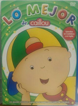 Dvds de Caillou