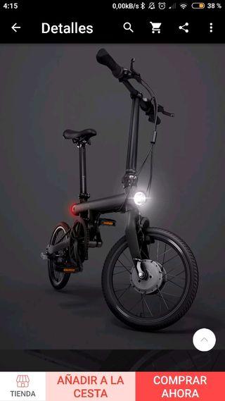 Bicicleta Eléctrica Xiaomi Qicycle.