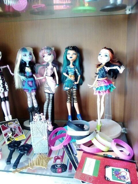 Oferta12 Muñecas Monster High de colección y regal