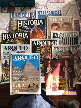 Revistas Arqueo, Historia, Historia y vida...
