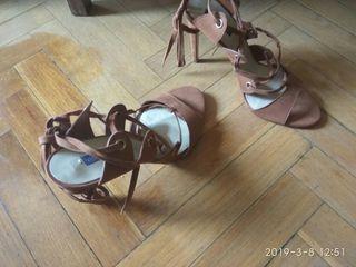Zapatos de MANGO, Mujer T: 41 - color Marrón Camel