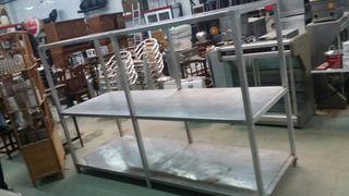 SOLO HOY estanteria acero aluminio