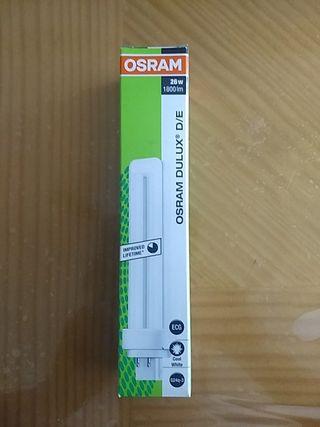 bombilla fluorescente Osram Dulux D/E NUEVA