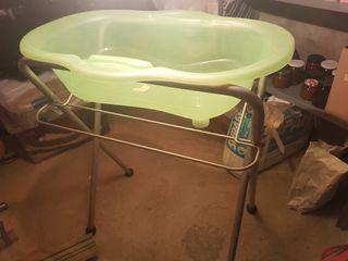 bañera de bebés plegable