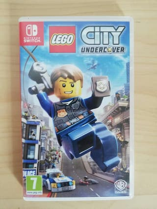 Juego Lego City Undercover Nintendo Switch
