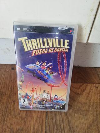 Videojuego Trhillville. PSP.