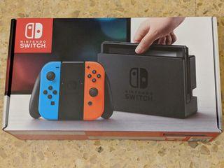 NUEVO Nintendo Switch Azul Rojo
